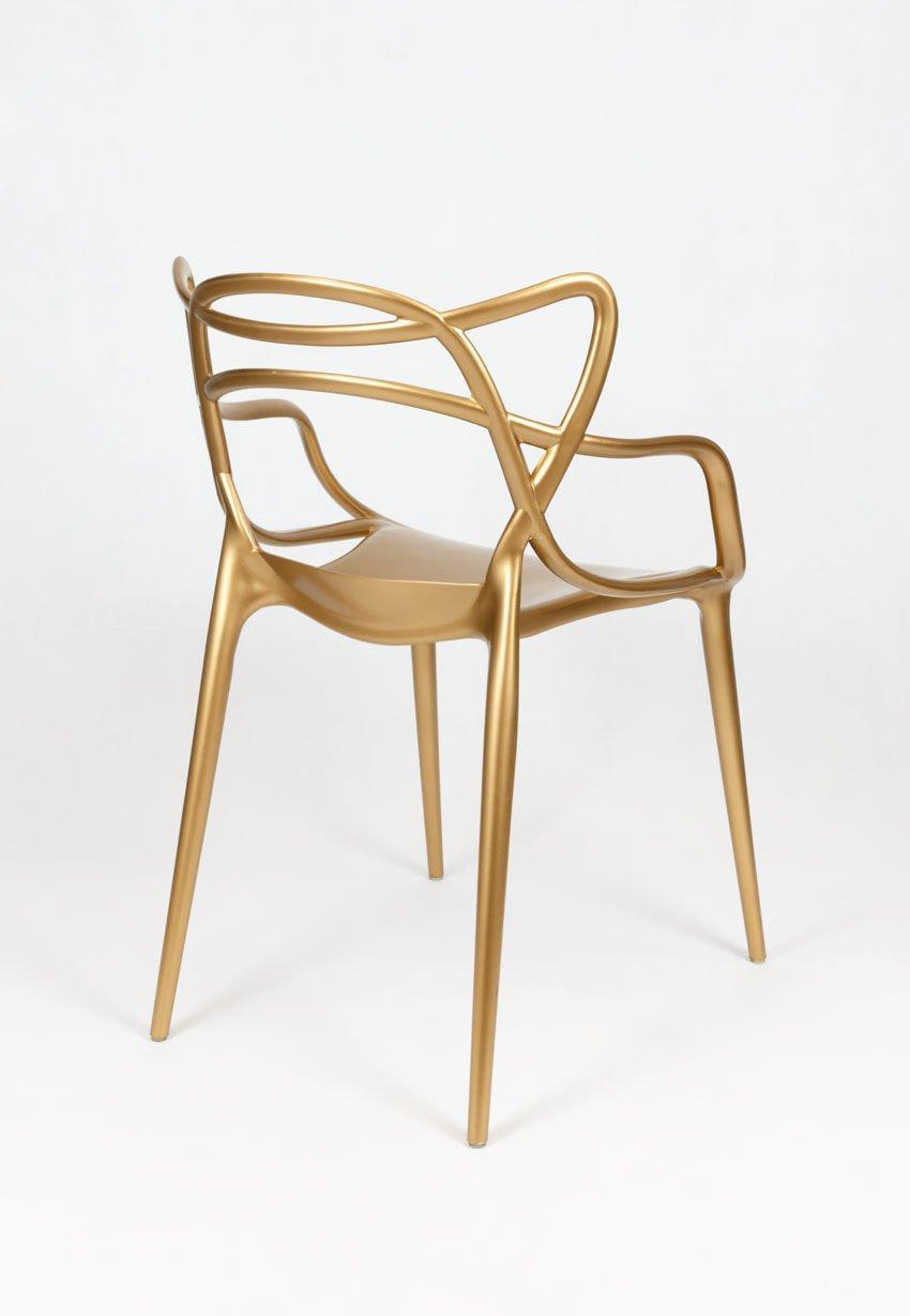 SK Design KR013 Gold Stuhl Gold