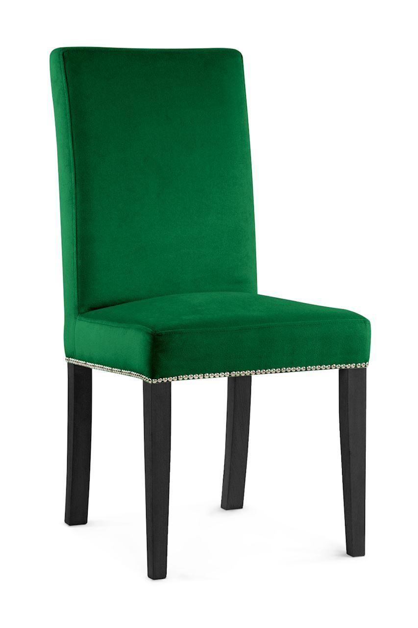 WILLFORD II Stuhl grün schwarzer Fuß KR19 Grün
