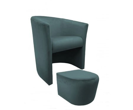 CAMPARI Sessel mit Fußstütze Bluvel 06
