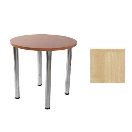Lucio 01 Ahorn Ø 80 cm Tisch