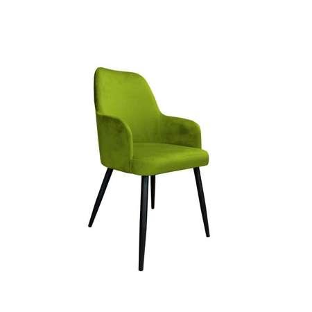 Oliv gepolsterter Stuhl PEGAZ Material BL-75