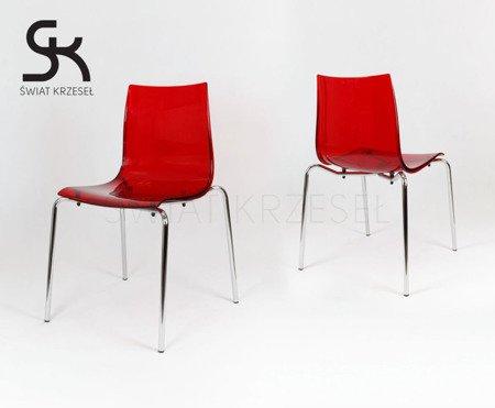 SK Design KR010 Transparent Stuhl