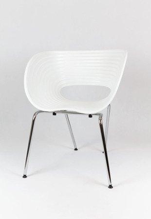 SK Design KR011 Weiss Stuhl