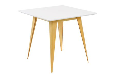 SK DESIGN ST15 WEISS TABELLE 80 x 80 cm