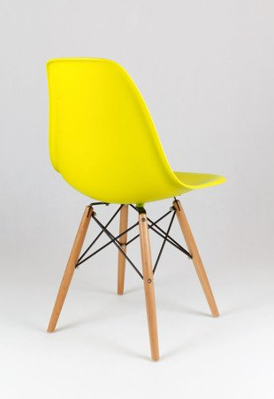 SK Design KR012 Gelb Stuh, Buche