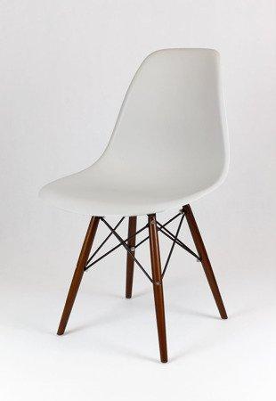 SK Design KR012 Hellgrau Stuhl Wenge