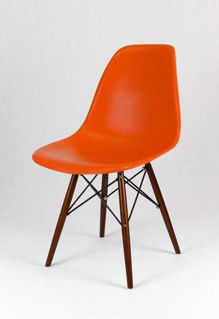 SK Design KR012 Orange Stuhl, Wenge