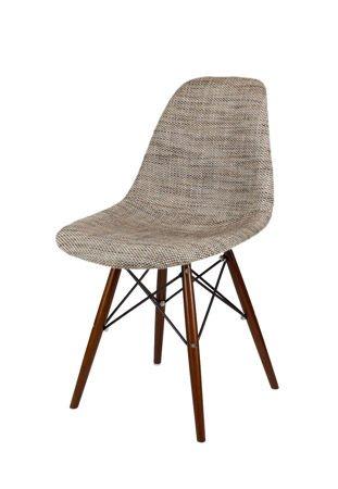 SK Design KR012 Polster Stuhl Lawa02, Wenge Beine