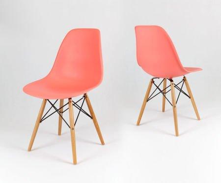 SK Design KR012 Roda Stuhl Buche