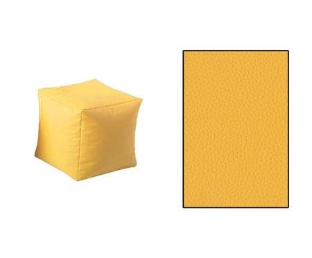 SKN Hocker Gelb Cubes