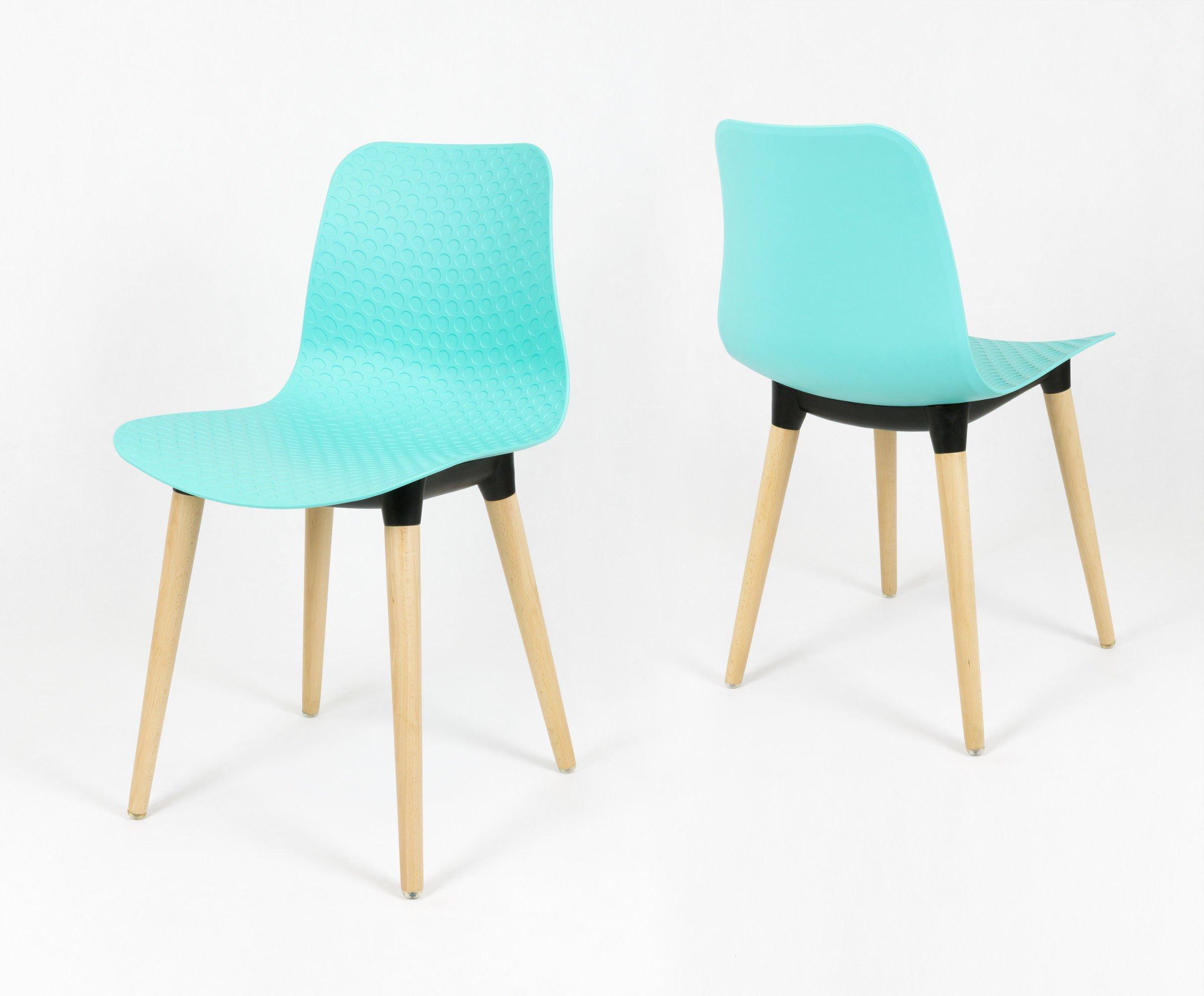 Sk Design Kr060 Turkusowe Krzesło