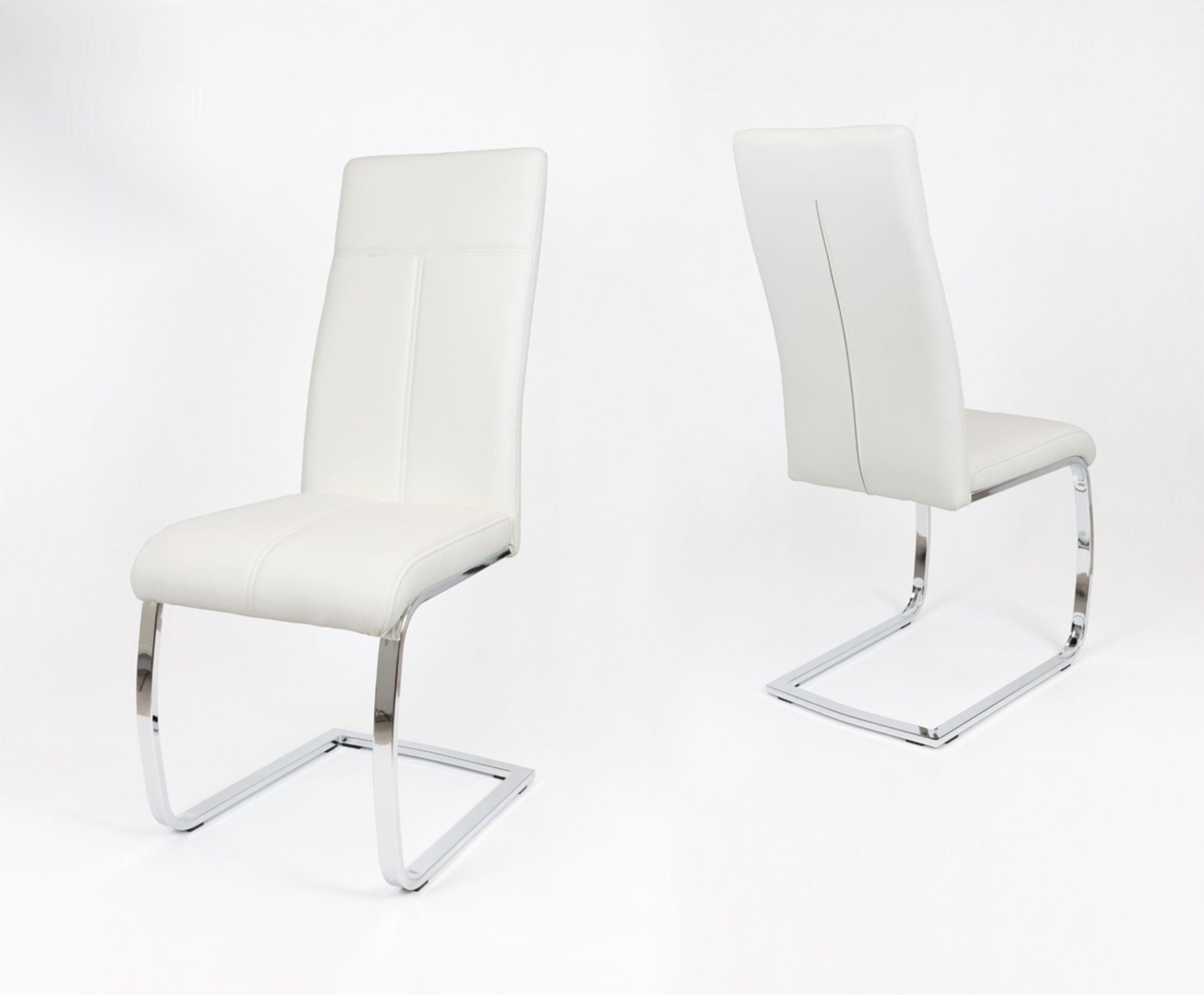 Bardzo dobry SK Design KS028 Białe Krzesło Biały | Oferta \ Krzesła Dom AI74