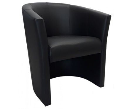Czarny fotel CAMPARI