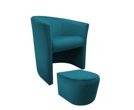 Fotel CAMPARI z podnóżkiem Magic Velvet 20
