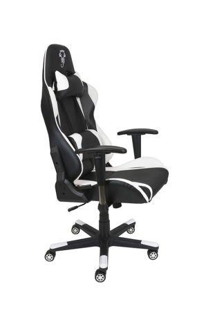 Fotel Gamingowy Scorpion Biały SKG005 B