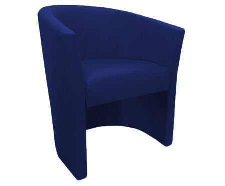 Granatowy fotel CAMPARI