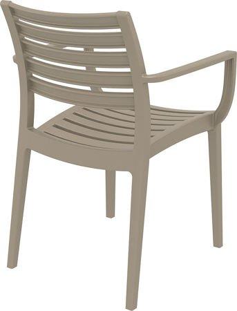 Krzesło Artemis Kawa z mlekiem