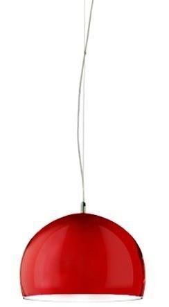 Lampa wisząca BLINU 48 czerwona