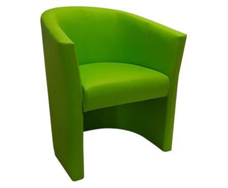 Oliwkowy fotel CAMPARI