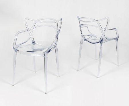 SK Design KR013 Transparentne Krzesło