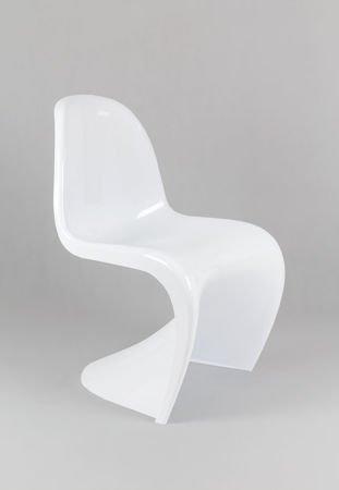 SK Design KR017 Białe Krzesło Połysk