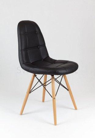 SK Design KS008 Czarne Krzesło