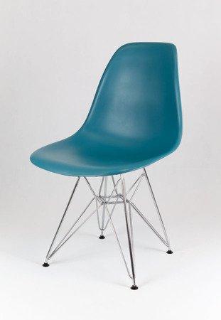 SK Design KR012 Morskie Krzesło, Chromowane nogi