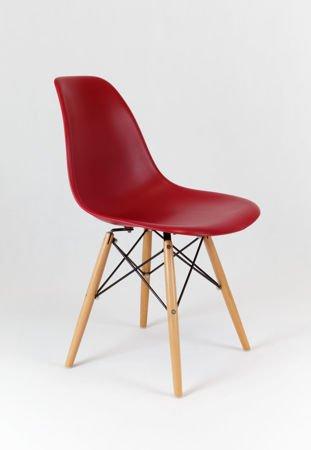 SK Design KR012 Wiśniowe Krzesło, Nogi buk