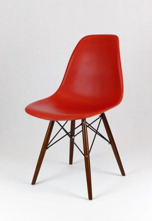 SK Design KR012 Wiśniowe Krzesło, Nogi wenge
