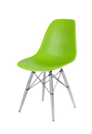 SK Design KR012 Zielone Krzesło, Nogi lodowe