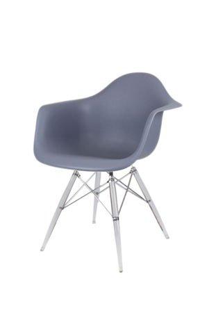 SK Design KR012F Ciemnoszary Fotel Lodowe
