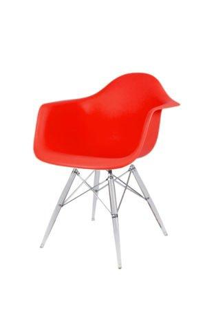 SK Design KR012F Czerwony Fotel Lodowe