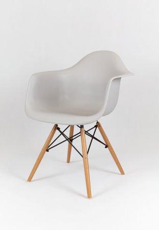 SK Design KR012F Jasnoszary Fotel Buk