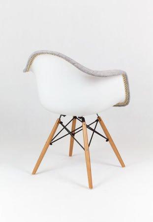 SK Design KR012F TBSZ Szary Fotel Buk