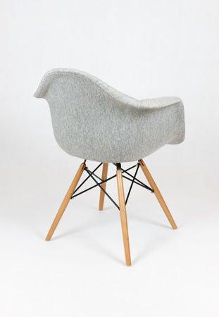SK Design KR012F Tapicerowany Fotel Atol02 Buk