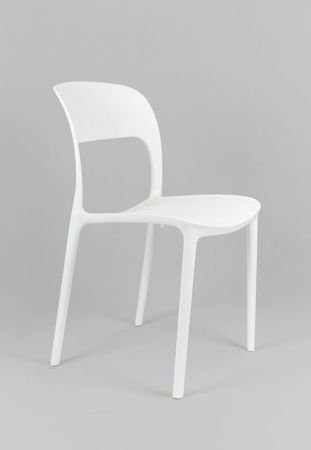SK Design KR022 Białe Krzesło UFO