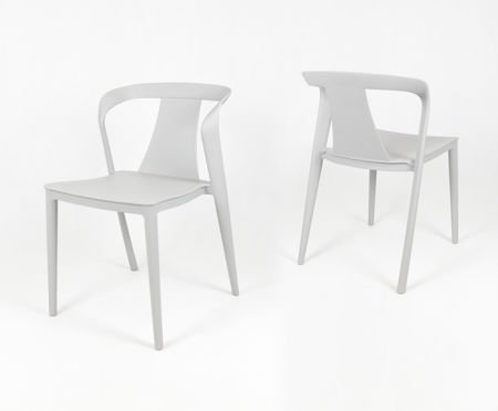 SK Design KR052 Jasnoszare Krzesło