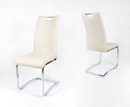 SK Design KS030 Kremowe Krzesło