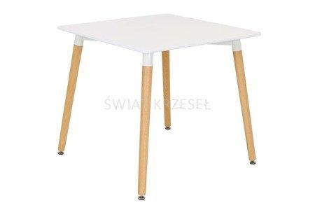 SK Design ST04 Stół Biały 80 cm