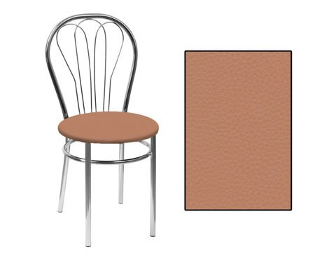 SKN Krzesło Venus Olcha (jasnobrązowe)